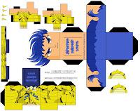 Paper Toy Masque Taureau Gris    Imprimer Sur T  Te Modeler Picture
