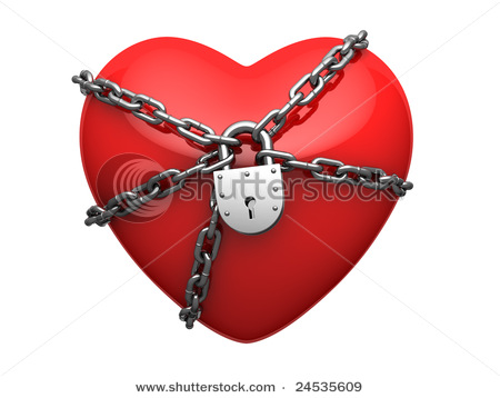 reaching the stars hearts locked on a chain