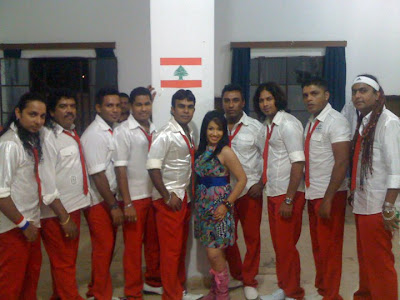 "of Lebenon with ""Flash back"" Srilankan famous Music Band - Sri Lankan"