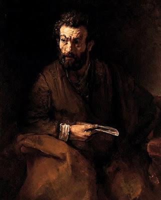 Rembrandt-apotre-Bartholome
