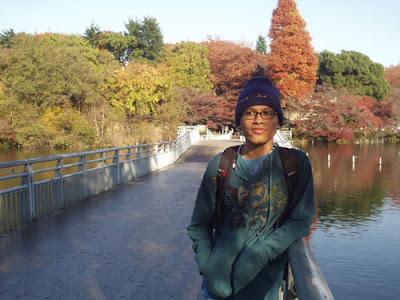 Di Taman Inokashira. Foto oleh Ratih Kumala.