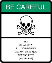 ¡Cuidado!