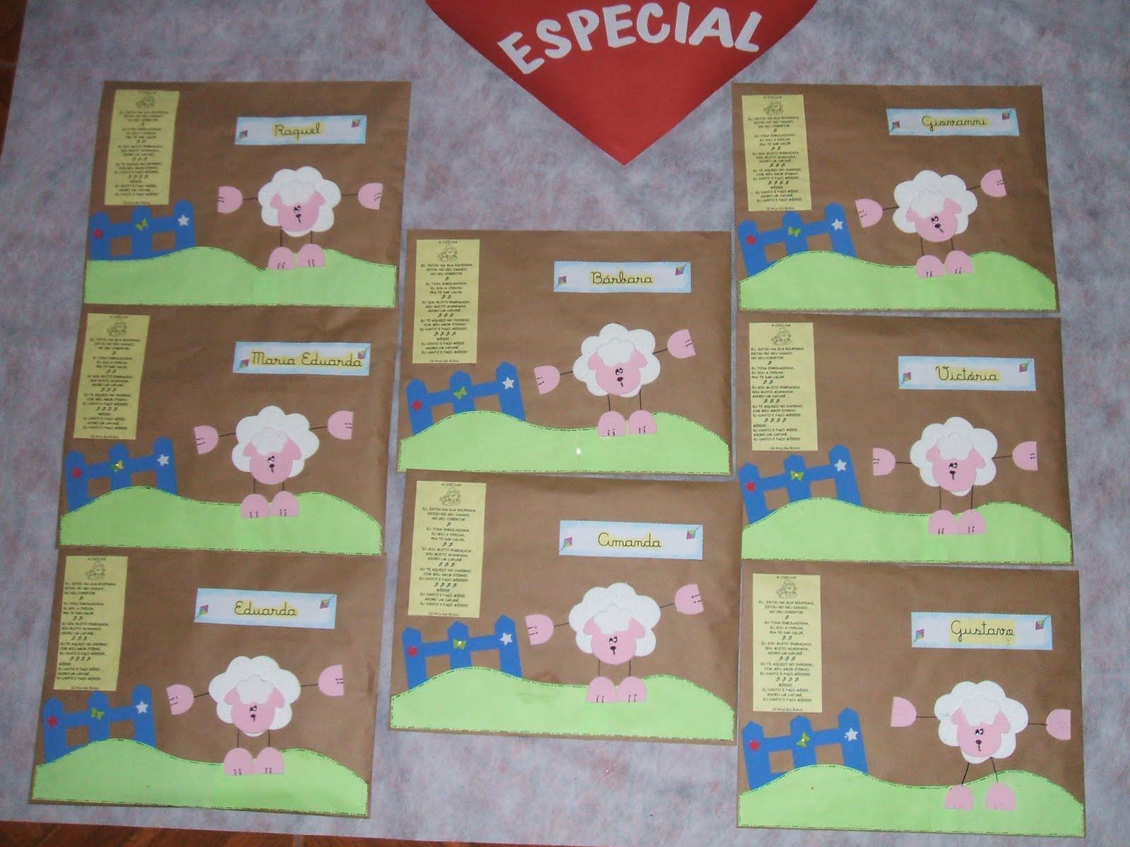 Envelopes De Atividades 2010