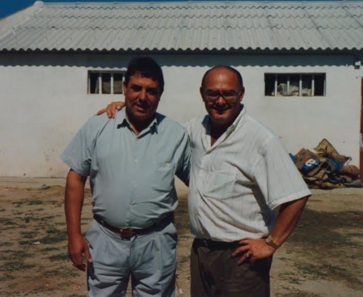 Con Pepe Salamanca