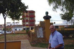 Ante monumento plaza de Sanlucar.