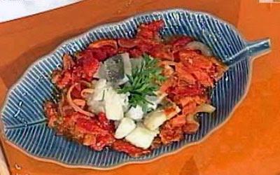 ricetta pesce salato casa clerici la prova del cuoco