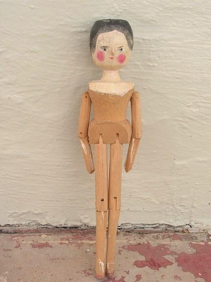 1000 Images About Antique Peg Dolls On Pinterest