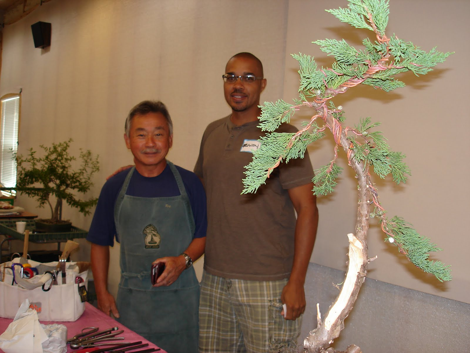 Bent Tree Bonsai Sat Am Roy39s Demo On A Juniper