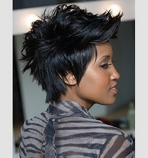 2010 2011 Great African American Mohawk Hairstyles