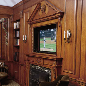 Motorized Flat Screen TV Lift Cabinets
