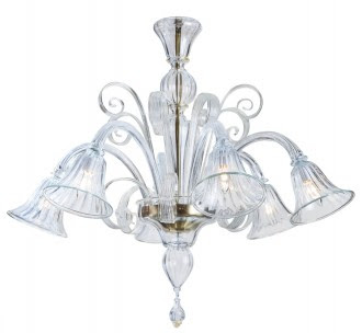 Living livelier murano chandeliers on decorator tag sale clear murano chandelier aloadofball Gallery