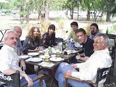 Com os hermanos cineclubistas de Córdoba