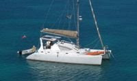 Charter catamaran ALEXIS in the Virgin Islands with Paradise Connections Yacht Charters