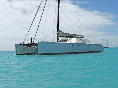 Catamaran Gunboat Looking for Elvis in St. Maarten - Photo ©2009 ParadiseConnections.com