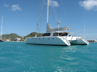 Catamaran Gunboat Safari in St. Maarten - Photo ©2009 ParadiseConnections.com