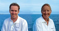 Charter Yacht Matelot's crew: Capt. Angus & Chef Jessie - Contact ParadiseConnections.com
