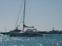 Catamaran Matau in Simpson Bay, St Maarten - (Photo ©2009 - Paradise Connections)
