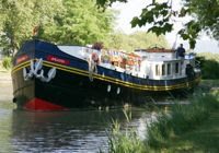 French Hotel Barge ANJODI 6 week transeuropean cruise
