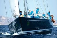 Race Swan Charter Yacht HIGHLAND BREEZE - contact ParadiseConnections.com