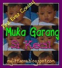 First Ever Contest - Muka Garang Si Kecil