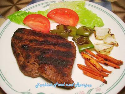 Restoranti 'Klea Love' Texas+Steak+%28Texas+Usulu+Biftek%29