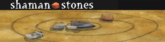 "Shaman Stones -Read stones, Learn Stone Divination with ""Authentic ShamanTools"""