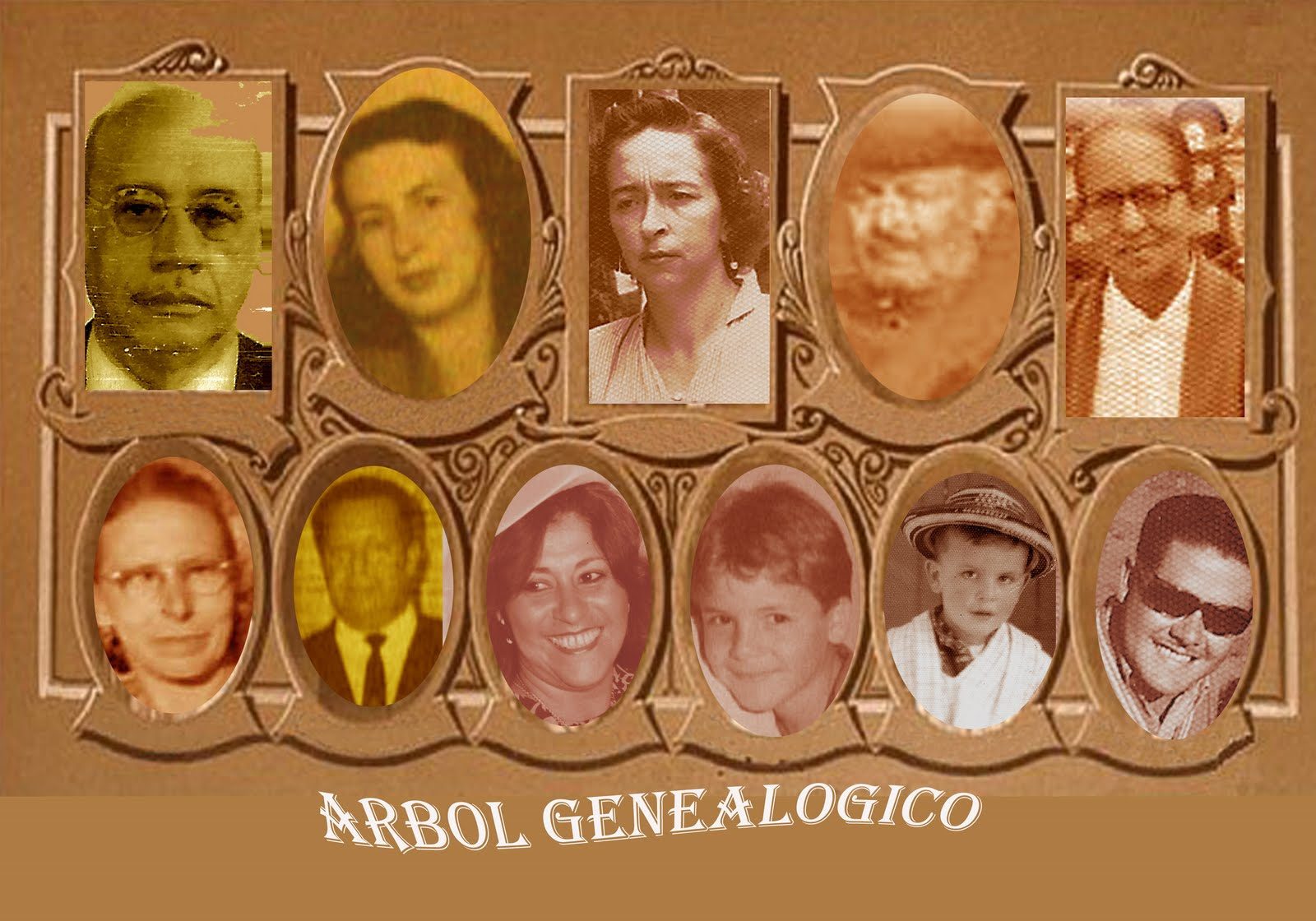 ARBOL GENEALOGICO