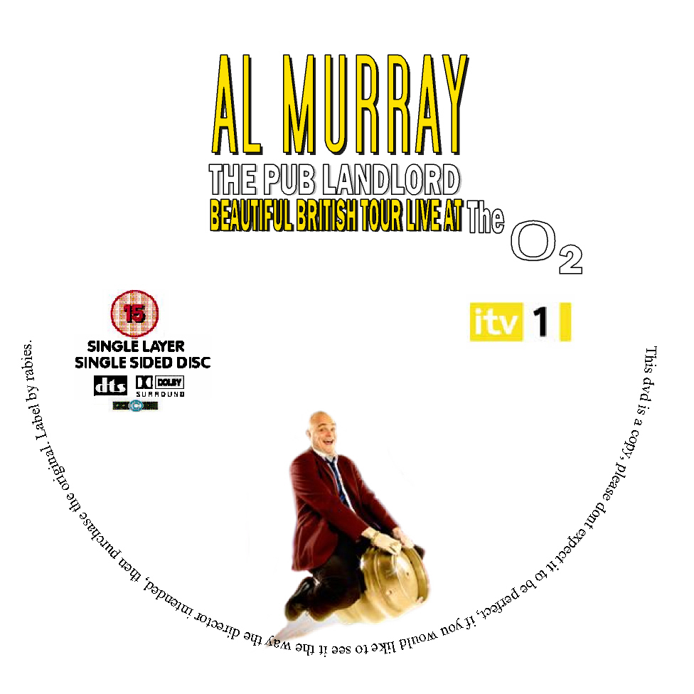 Al Murray The Pub Landlord Beautiful British Tour O