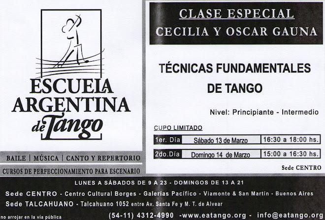 Escuela Argentina de Tango. C.C. Borges