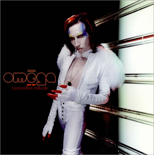 Marilyn Manson - Mechanical Animals - metal music album