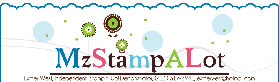 MzStampALot - Canadian Stampin' Up! Demonstrator Canada