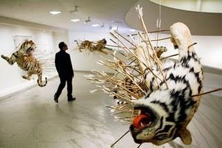 Cai Guo Qiang Tiger