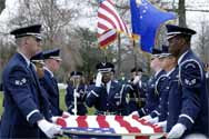 America 2010: Warflag over casket