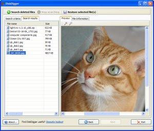 Recuperare files cancellati dall'hard disk, recuperare dati eliminati dal cestino per errore