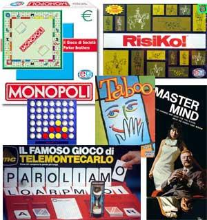 Monopoli online italiano, Risiko, Scarabeo, Forza 4, MasterMind, Paroliamo, Contiamo e Battaglia Navale, Trivial Pursuit online gratis italiano