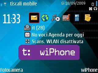 Indoona, Symbian, Tiscali wiPhone opinioni, come funziona, cos'è, installazione, risparmiare con il voip, come avere un numero nomadico gratuito sul cellulare, telefonare gratis ai fissi