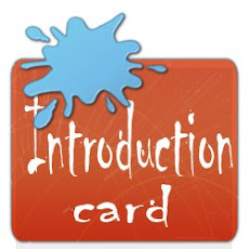 INTRODUCTION CARDS