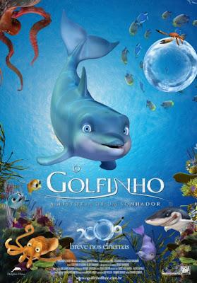 Filme Poster O Golfinho - A História De Um Sonhador DVDRip RMVB Dublado
