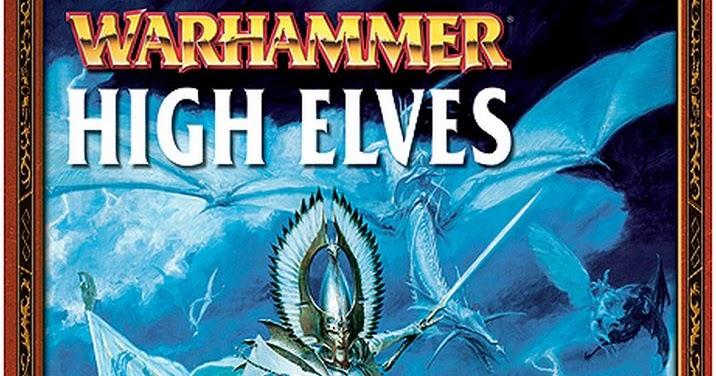 high elves 2001 pdf army book