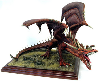 massive Fire Dragon miniature picture