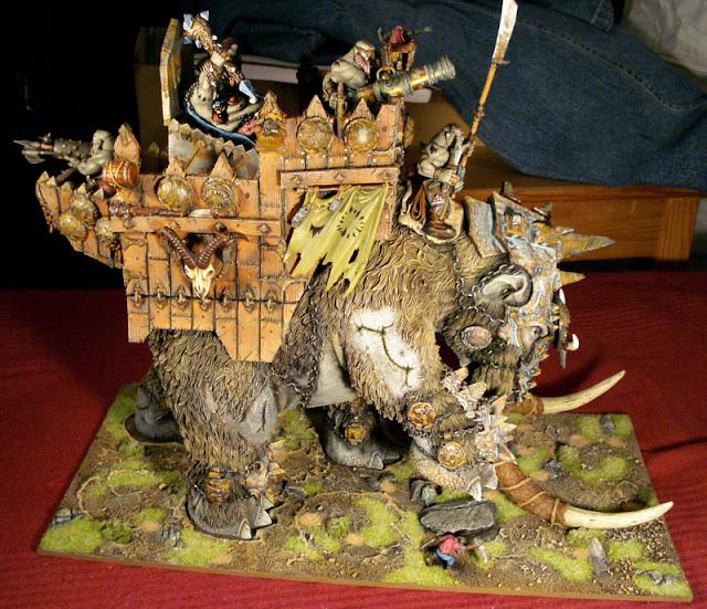 Fantasy Battle custom miniature pictures