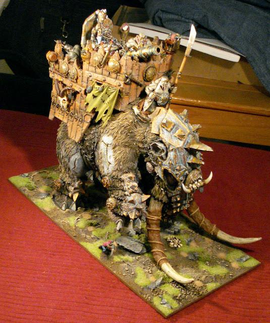 Ogre Mammut Warhammer conversion image