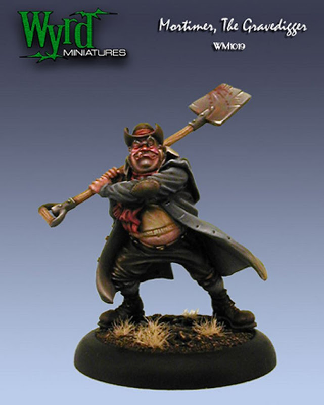 Wyrd Games Grave Digger miniature photo
