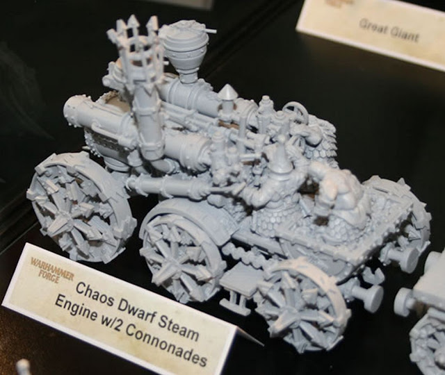 Chaos Dwarf Steam Engine picture