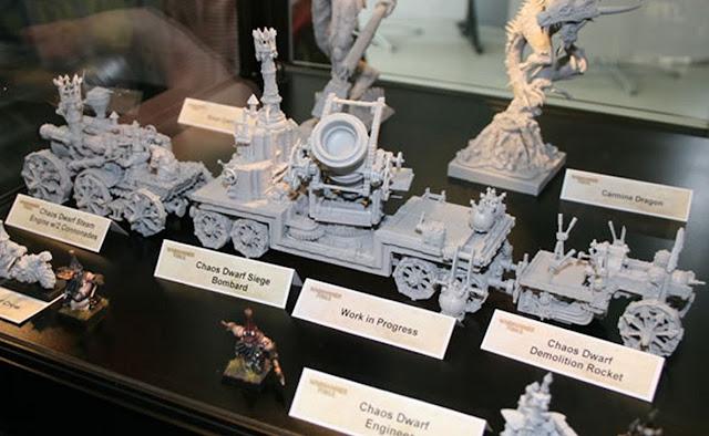 Chaos Dwarf Miniatures images