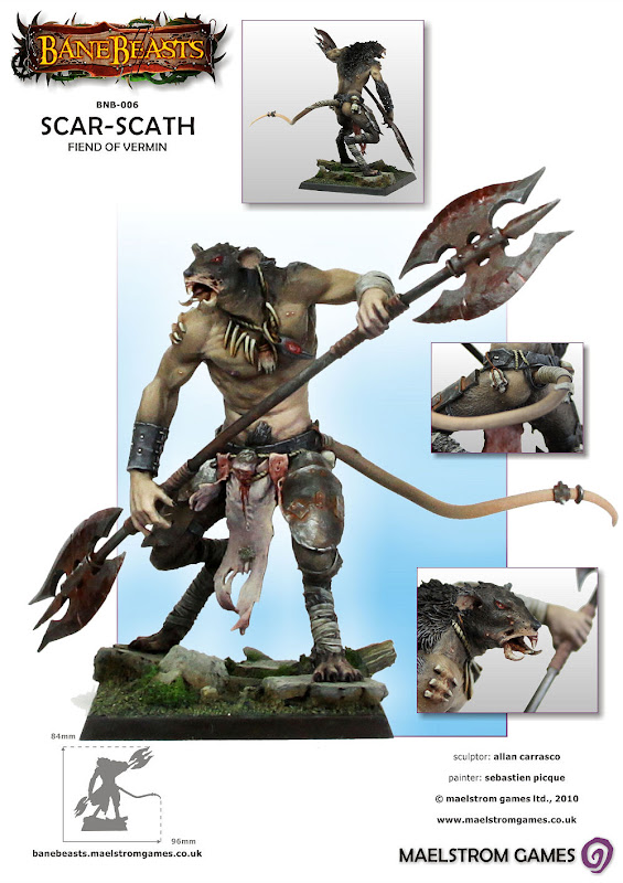 possible Skaven Lord / Chaos abomination model