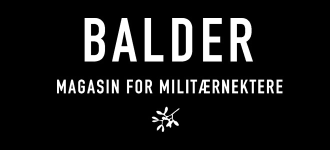 Balder - Magasin for militærnektere