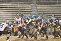 Conyers rushes through the monsoon