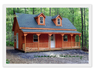 What 39 s new at wood tex products for Two story shed house