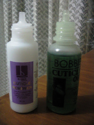 Bobbie Nail Products